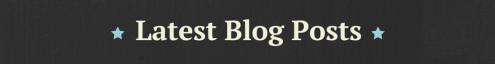 Latest Blogs (7)